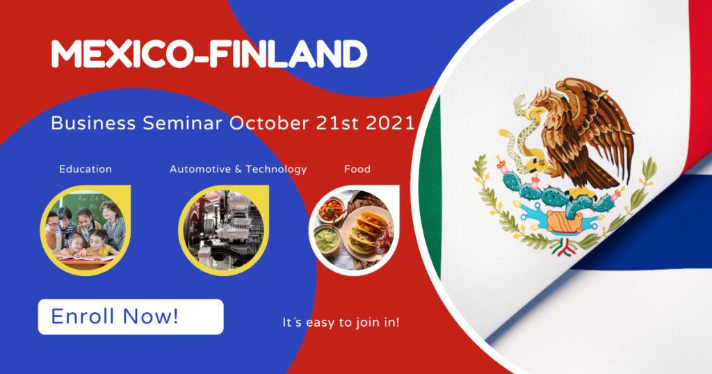 Mexico-Finland business seminar, businessmaker, finpartnership