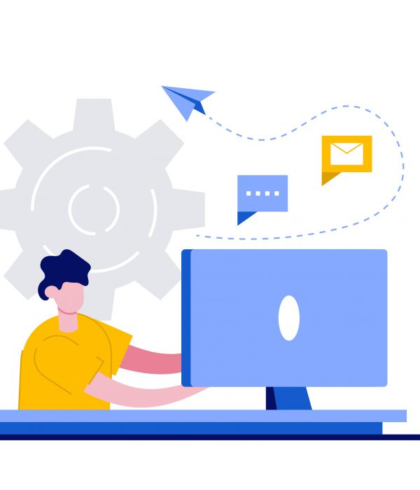 matchmaking, businessmaker, b2b matchmaking, Innovative solution, cooperation, workflow concept with tiny people. Effective work abstract vector illustration set. Creative ideas generation, team building, productivity management metaphor.